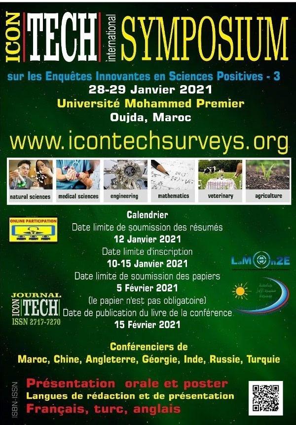 Symposium international ICONTECH-3