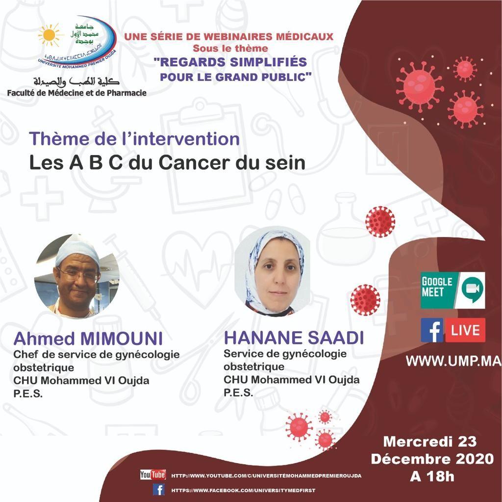 Les A B C du Cancer du sein